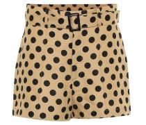 Bedruckte Shorts aus Leinen