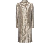 Mantel aus Metallic-Jacquard