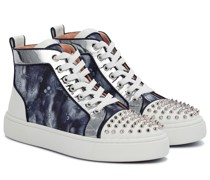 Sneakers Super Lou Spikes aus Canvas