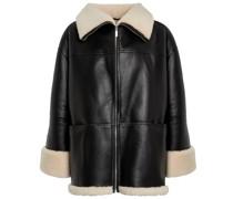 Oversize-Jacke aus Shearling