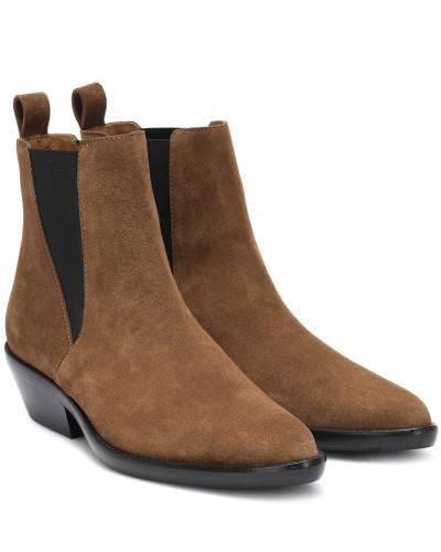Exklusiv bei Mytheresa – Ankle Boots Drenky aus Veloursleder