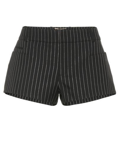 Gestreifte Shorts aus Wolle