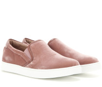 Slip-on-Sneakers Venice aus Samt