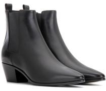 Ankle Boots Rock 40 aus Leder