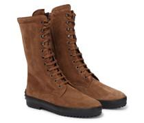 Ankle Boots Gommino aus Veloursleder