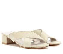 Sandaletten Lauren aus Veloursleder