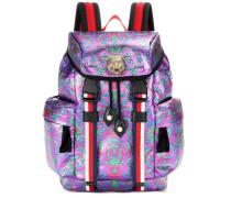 Rucksack Techpack aus Brokat