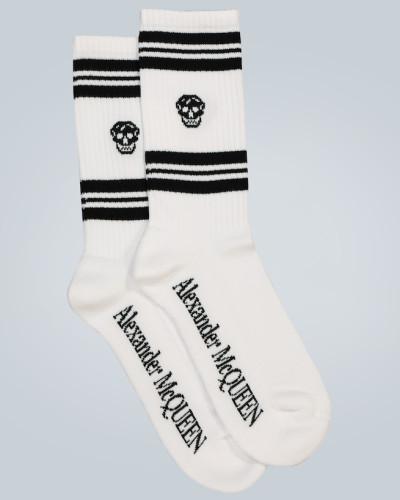 Socken aus einem Baumwollgemisch