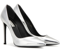 Pumps All Time aus Metallic-Leder