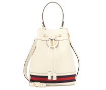 Bucket-Bag Ophidia Small aus Leder