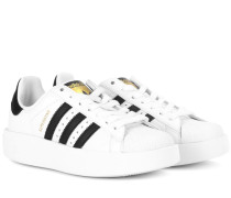 Sneakers Superstar Bold aus Leder
