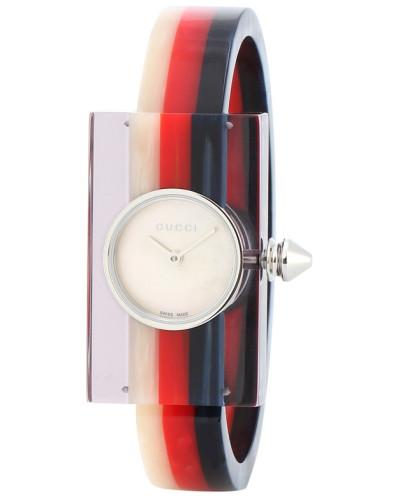 Uhr aus Plexiglas®