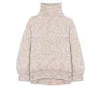 Oversize-Pullover Sorocco aus einem Woll-Mohairgemisch