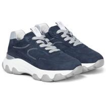 Sneakers Hyperactive aus Veloursleder