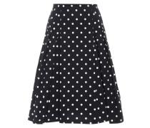 Exklusiv bei mytheresa.com – Midirock mit Polka Dots aus Stretch-Baumwolle
