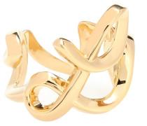 Ring mit Love-Schriftzug