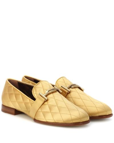 Loafers aus Satin