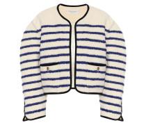 Gestreifte Jacke aus Tweed