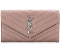 Portemonnaie Monogram aus Leder