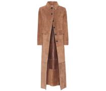 Mantel Marius aus Veloursleder