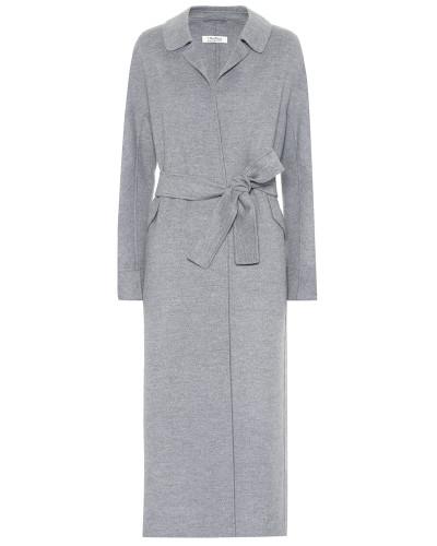 Mantel Dora aus Wolle und Angora