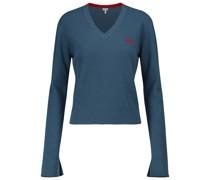 Pullover Anagram aus Wolle und Baumwolle