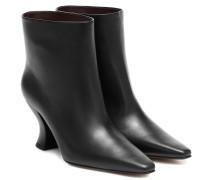 Ankle Boots Almond aus Leder