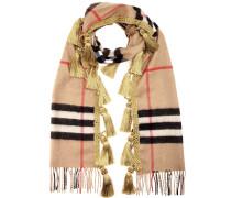 Cashmere-Schal mit Quasten