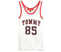 Tanktop Basketball aus Satin