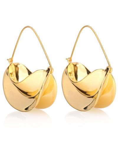 Vergoldete Ohrringe Paniers Dorés