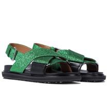 Sandalen mit Gitter