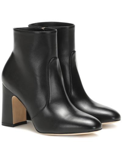Ankle Boots Nell aus Leder