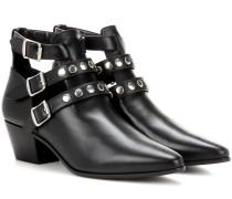 Ankle Boots Rock aus Leder