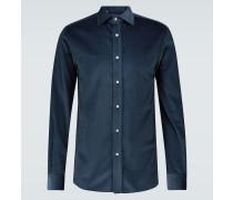 Hemd aus Baumwollcord