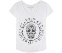Verziertes T-Shirt aus Jersey