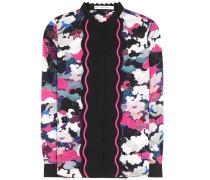 Bedruckte Bluse Mica aus Seide