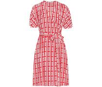 Exklusiv bei mytheresa.com – Kleid aus Crêpe mit Print