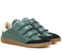Étoile Beth Sneakers aus Glatt- und Veloursleder