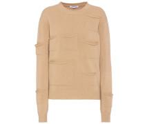 Pullover aus Wolle und Cashmere mit Taschen