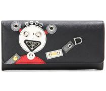 Portemonnaie Robot aus Saffiano-Leder
