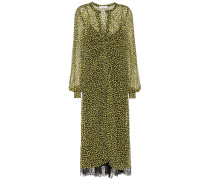 Printkleid Leopard Bloom
