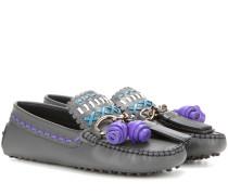 Loafers Gipsy aus Leder