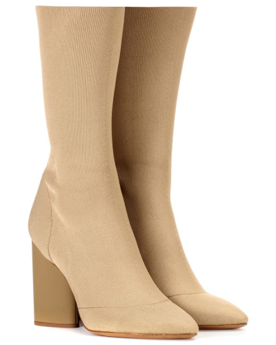 Ankle Boots aus Stretch-Strick (SEASON 4)