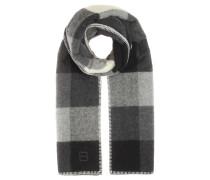 Karierter Schal aus Wolle und Alpaka