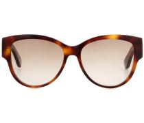 Sonnenbrille Monogram M3 in Schildpattoptik
