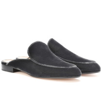 Slippers Palau aus Samt