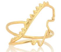 Ring Dino Puro aus 9kt Gelbgold