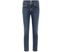 Mid-Rise Slim Jeans Skyla