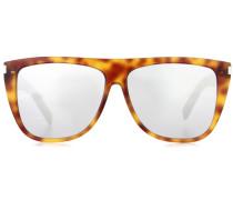 D-Rahmen-Sonnenbrille New Wave 1 aus Acetat