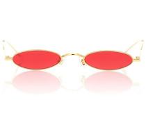 Ovale Sonnenbrille Vector 03